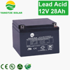 USA brand 12v 27ah 28ah exide battery price