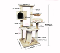Aimigou Pet Manufacturer Cat Tree Tower Cheap Cat Houses Cat Tree Scrather
