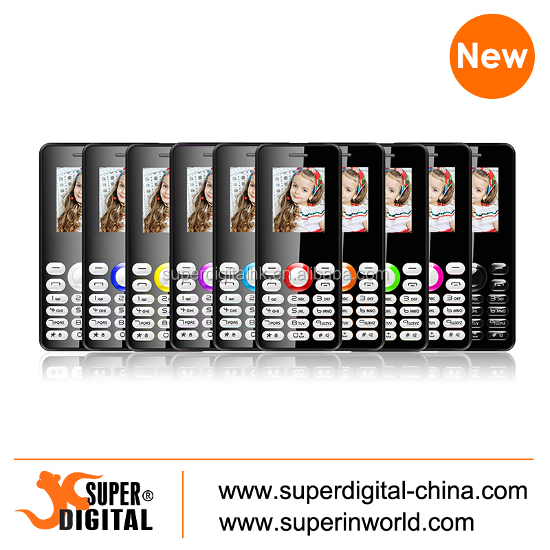 1.77INCH Dual sim card bar feature phone Quad bands China mobile phone with Crystal keyboard