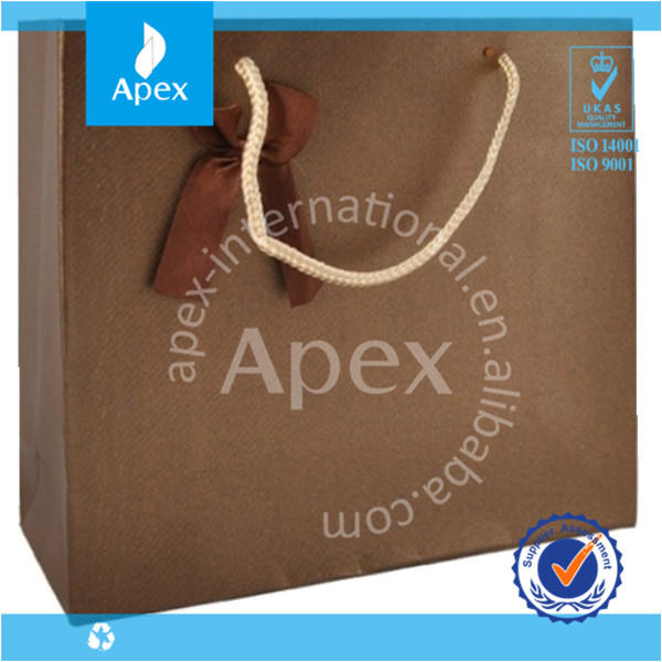 paper gift bag&reusable bag
