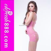 2016 New fashion mature women transparent babydoll nighty see through nighty
