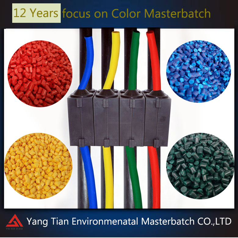 plastic masterbatch electrical conductive pellets for plastic insulating tube/cable