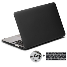 "Hard Plastic Snap on Case Shell+Keyboard Cover for Macbook 11.6"" Air"