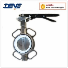Stainless Steel PTFE Seated Butterfly Valve