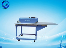 fusing heat press machine hot melt adhesive with Teflon seamless belt