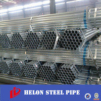 Zin coating Pre galvanized Steel Pipe tube in stock with best price