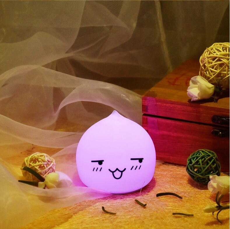Modern fashion cartoon charging night light For Chile kid night light portable USB rechargeable