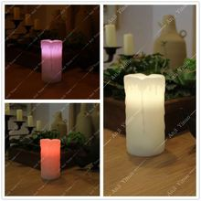 18 key Remote Control Changing 12 Colors LED Flameless Electronic Candle Light