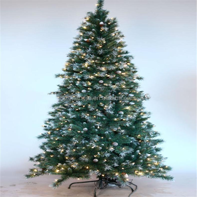 Sjzjn 1533 Plastic Fake Christmas Tree Hot Sale Pine