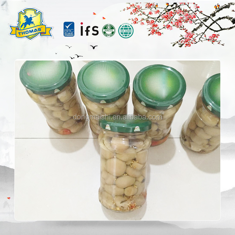 2016 New crop fresh jar button mushroom with good quality