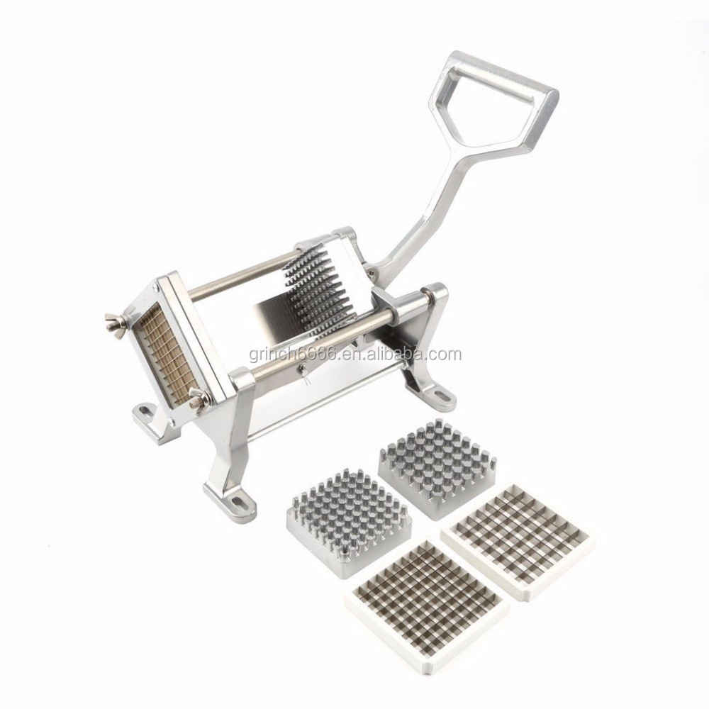 Quality Potato French Fry Cutter Slicer With 3 Blades