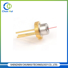 Good quality through hole 635nm 5mw laser diode module