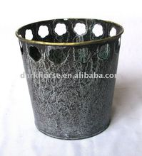 Metal Garden Flower Pot