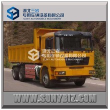 China factory Shacman 6*4 340hp 50t Tipper Truck & Dump Truck Transportation Truck Dimension