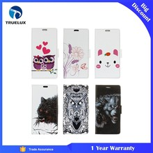 Hot Selling Product Lovely Animal Cover Flip Protective Leather Smart Phone Case For Samsung S8 Plus