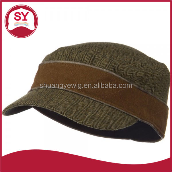 Stylish vintage military hat for both men and women