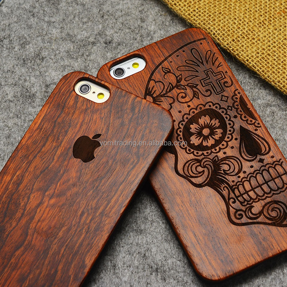 Luxury Natural Wooden Wood Bamboo Case For Apple iPhone 7 7 Plus Cover Shell