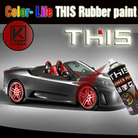 car peelable metal clear plastic dip liquid rubber coating spray paint color for car