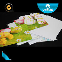 Best quality super white 300gsm Double sided glossy waterproof A4 photo paper A1 A2 A3 size for business card
