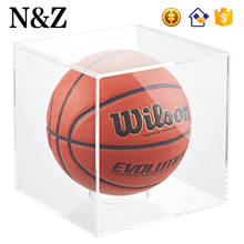 NZ M70 Acrylic Basketball Display Case Premium Large Acrylic Display Cube