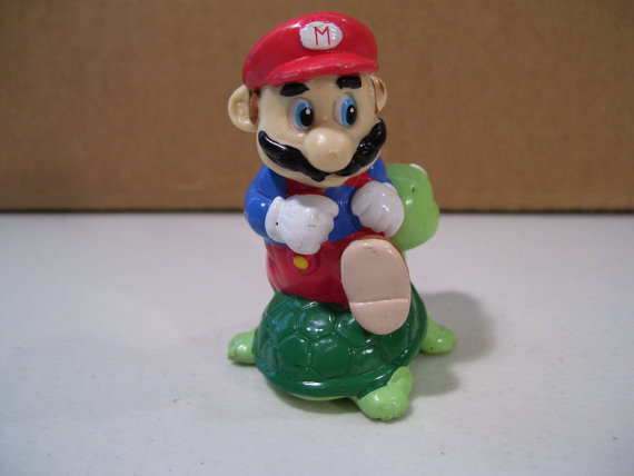 promotional famous mario character custom hot action figures