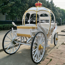 White princess horse drawn carriages manufacturer