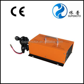 lead acid battery charger for electric golf car, shuttle car