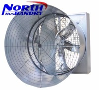 air flow 44000m3/h poultry exhaust fan/cone exhaust fan for poultry farm and greenhouse