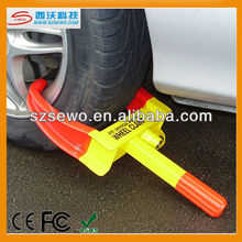 2013 Hot Anti-theft Stainless Steel Parking Wheel Tyre Clamp