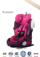 child safety motor seat for young baby car seat 9-36KG group 123 ecer4404