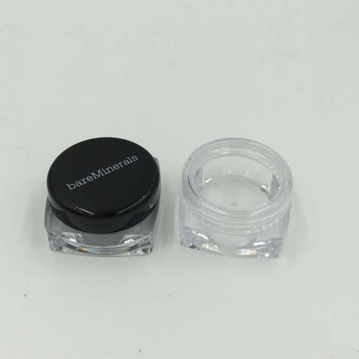 High quality 5g PS Small Sample Containers Mini Clear Plastic Cosmetic small ps jar