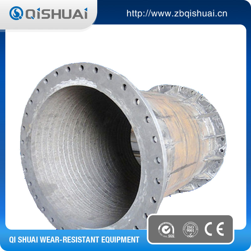 China CrC abrasion resistant wear steel pipe hot sale