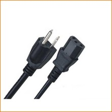 UL AC Power Cord for 18AWG Schuko Plug Cables Types