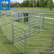 2017 Hot Sale Hot Dipped Galvanized Livestock farm fence panel