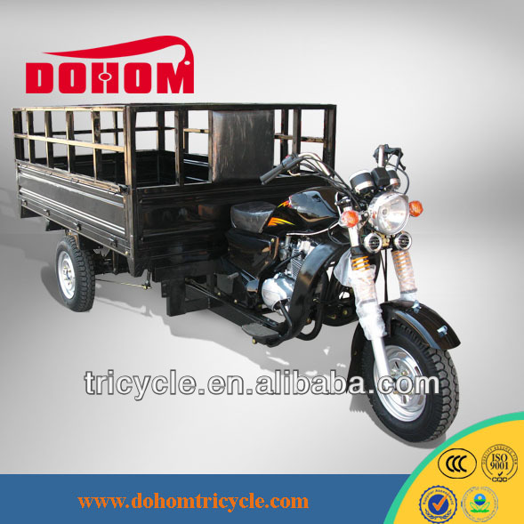 Goods carrier motorcycle three wheel motor tricycle for peddlers