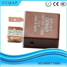90987-T4001 Wholesale price auto electrical denso toyota dc 12v relay 5 pin for Lexus Scion Prius Rav4