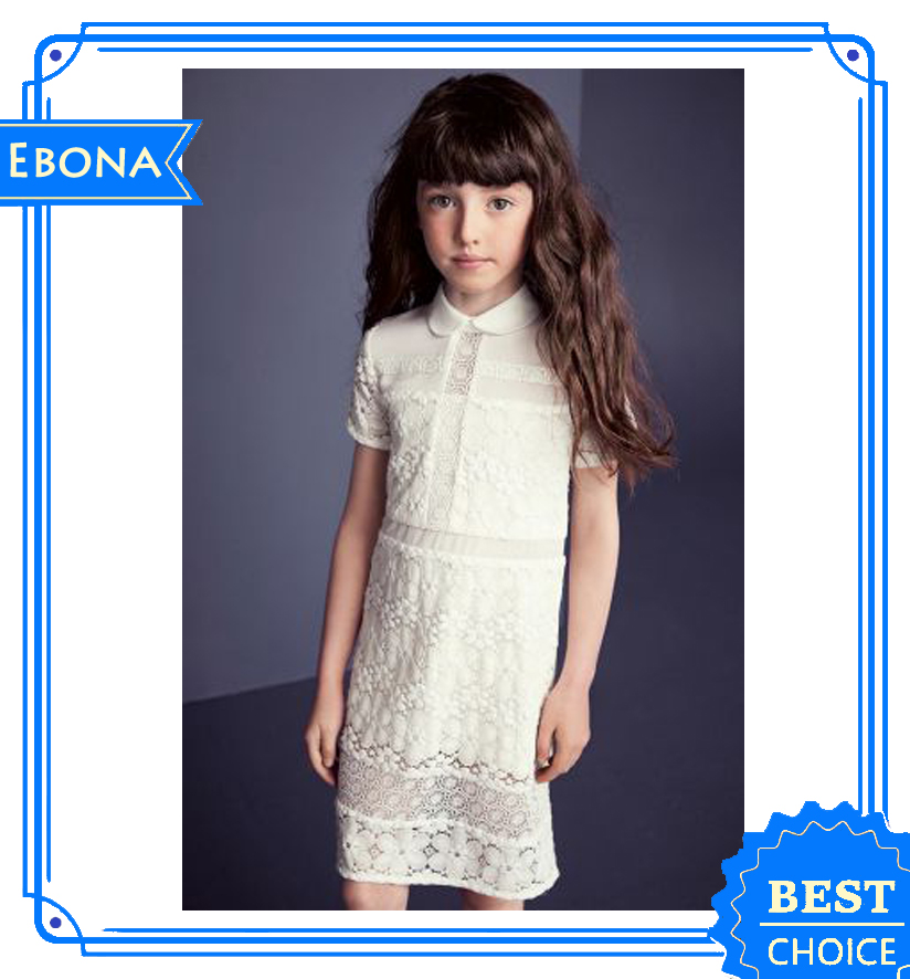 Hot Kids Frock Lace Flower Girl Dresses Kids Clothes