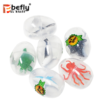 Plastic sealife figurines vending machine capsule with toy