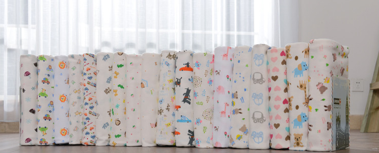 Lovely animal print cotton fabric for children clothing for Knit fabric childrens prints