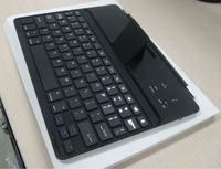 High quality wireless magnetic for ipad 2 bluetooth keyboard case