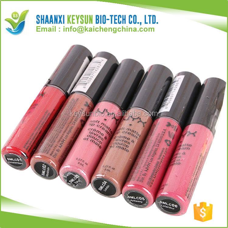Waterproof Lip Gloss Matte and Bright Liquid Lip Makeup Cosmetic CHINA supplier hot sale