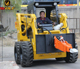 China Bobcat Mini Skid Steer Loader with Attachments