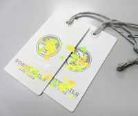 White Paper Garment Transparent UV Print Product Tag