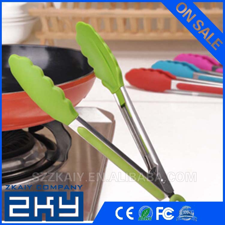 Colorful New Design Silicone Food Clamp With Silicone Head