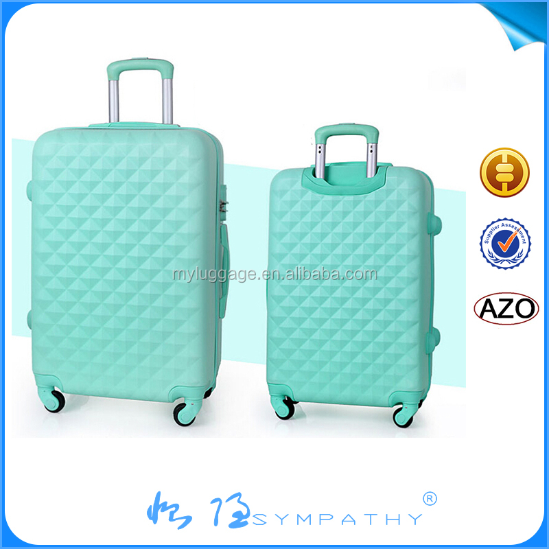 ABS+PC pcs travel bags fashionable president trolley luggage bag