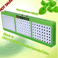2015 Hot Sales Mars Reflector 144 LED Grow Light 5W Chip Full Spectrum Hydroponic Switchable Plant Grow Light