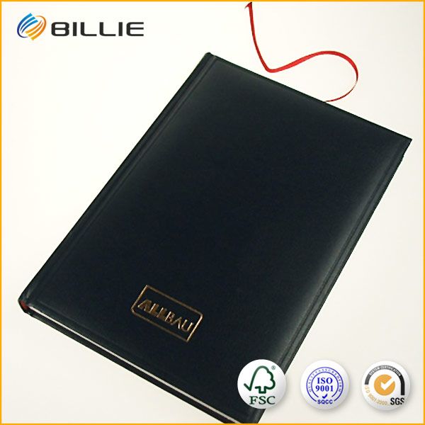 Top quality blank leather books