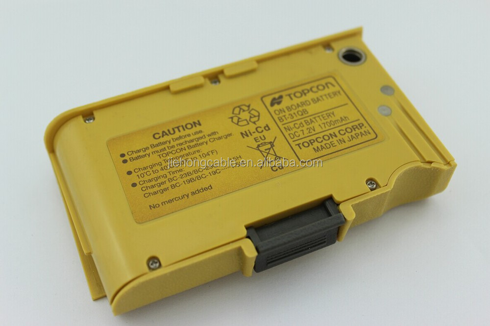 Compatible battery BT-31Q for Topcon digital theodolite