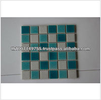 High Quality Fashion Style Ceramic Crackle Glass Mosaic Tile