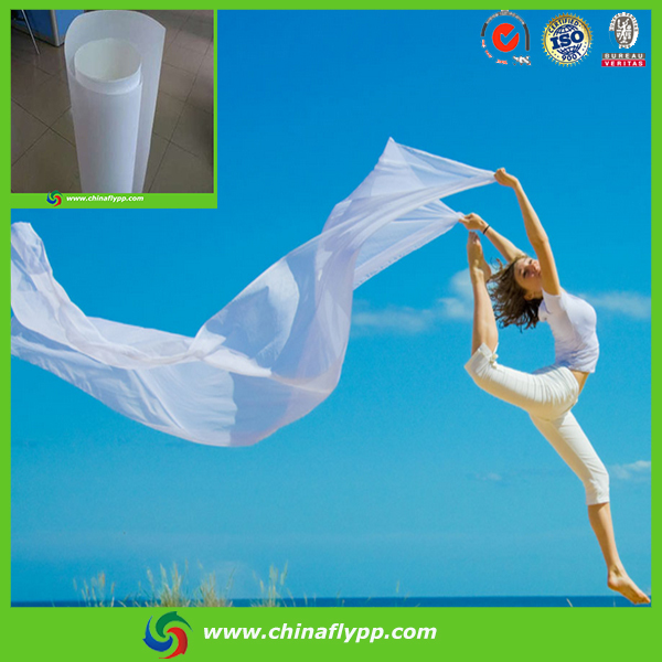 FLY high grade Eco Solvent PET Film For Grey Back Self Adhesive,150um eco solvent pet film